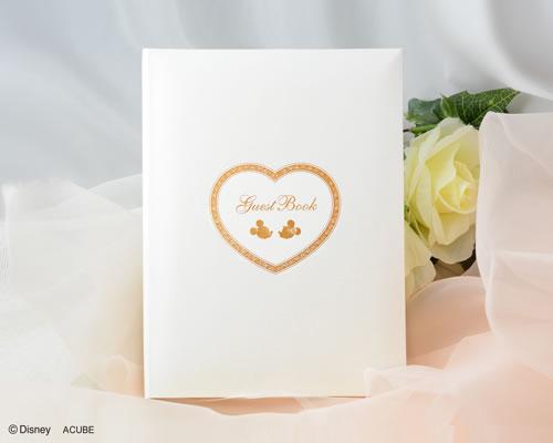 【Disneyzone】【ディズニー】ゲストブック 芳名帳 結婚式 レヴェリー(カード式) ウエディング ブライダル