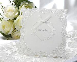 結婚式 招待状 ウエディング 手作りセット マリエD 10枚セット 手作りキット 結婚式招待状 ブライダル ウェディング Invitation bridal