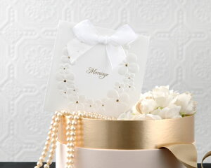 【THE HANY】結婚式招待状 アデリーヌ(10枚セット)手作りキット 結婚式 ウエディング 招待状 手作りセット ブライダル ウェディング bridal
