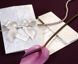 【印刷してお届け!】結婚式招待状 ギフトGY(グレー)(印刷込み) 招待状 印刷込 ブライダル ウェディング bridal