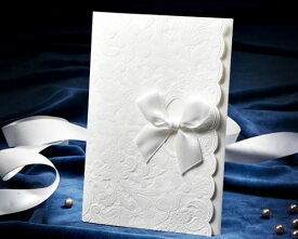 【印刷してお届け!】結婚式招待状 マリエE(印刷込み) ブライダル ウェディング bridal