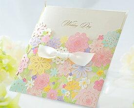 【印刷してお届け!】結婚式招待状 コローラ(印刷込み) ウエディング 招待状 ブライダル ウェディング bridal