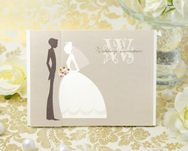 【印刷してお届け!】結婚式招待状 チェリッシュ(印刷込み) 招待状 ブライダル ウェディング bridal