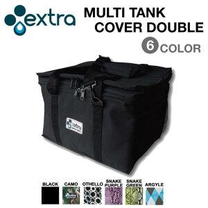 EXTRA エクストラ MULTI TANK COVER DOUBLE マルチ タンク カバー ダブル 各6色