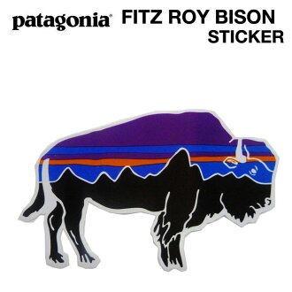 PATAGONIA Patagonia FITZ ROY BISON STICKER Fitz Roy stickers