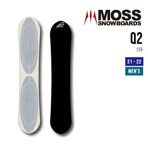 MOSS モス 21-22 Q2 キュウツー [早期予約] [特典多数] スノーボード 156