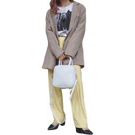 Gun Club Check Oversized Tailored Jacket (beige) レディース テーラードジャケット ガンクラブチェック 長袖 アウター 羽織り ルーズ オーバーサイズ ストリートファッション 韓国ファッション 女性 洋服 ブランド アパレル A.D.G ADG エーディージー