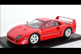 GTスピリット 1/8 フェラーリ F40 1987 レッド ショーケース付き 250台限定 Ferrari red with showcase