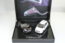 ノレブ 1/43 プジョー 208 GTi 2015 1200台限定 Coffret Peugeot 208 GTi Blanc Nacré + 208 XY Night Purple