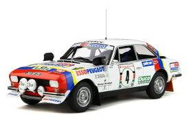 オットーモービル 1/18 プジョー 504 TEAM ESSO #4 サファリラリー 1978 優勝車 PEUGEOT WINNER RALLY SAFARI NICOLAS - LEFEBVRE