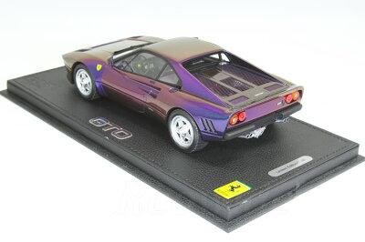 BBR1/18フェラーリF12ベルリネッタ2012レッドxマットブラックホイールレザーベース
