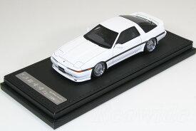 イグニッション 1/43 トヨタ スープラ 3.0 GT A70 ホワイト BBS ホイール