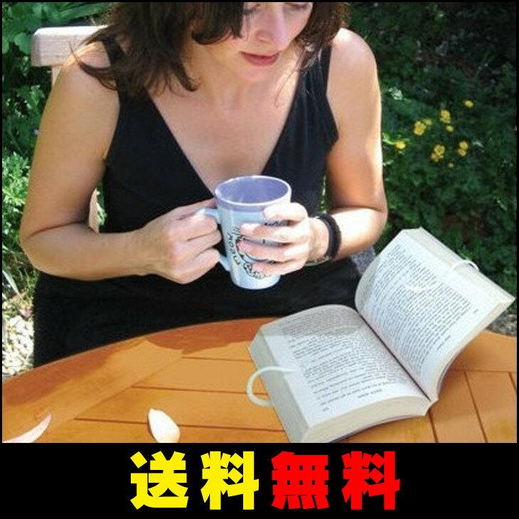 【エントリーでポイント5倍】【送料無料】 楽々 本読み スタンド 手ぶら 読書 ブックストッパー (3色)