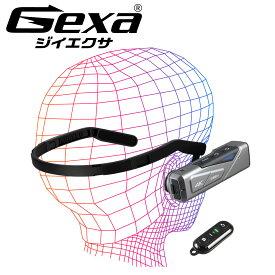 【全品ポイント2倍:10/24〜30】 4K ウェアラブルカメラ ヘッドマウントカメラ ヘッドカメラ アクションカメラ 光学式手ぶれ補正 ハンズフリー リモコン スマホ操作 256GB対応 GX-103 ジイエクサ(Gexa)