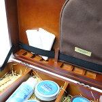 M.モゥブレィ「シューケアBOXセット」革靴のお手入れに。スムースレザー用木箱入りケア用品一色セット。ギフト、プレゼントにオススメ!ボックスセット【シューケアセット】【シューケア用品】【w1】05P08Feb15