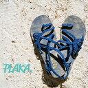 【2019SS】PLAKA SANDALプラカサンダル USブランド サンダル フラット ストラップサンダル ヨガ リゾート ビーチスタイル(plaka-parmleaf)インポートシューズ