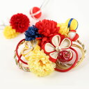 DW-003【和飾り】髪飾り|赤|つまみ細工|和装|着物|振袖|袴|和装|成人式|卒業式|結婚式|ヘアアクセサリー|…