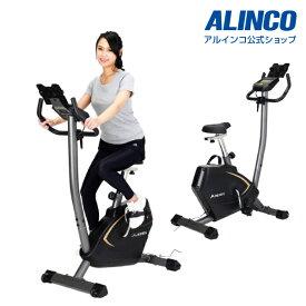 新品・未開封品フィットネスバイク アルインコ直営店 ALINCO基本送料無料 AFB7018 プログラムバイク7018エアロマグネティックバイク スピンバイク バイク ダイエット健康器具