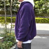 SUNNY SPORTS X MADE IN STANDARD boa fleece stand collar jacket
