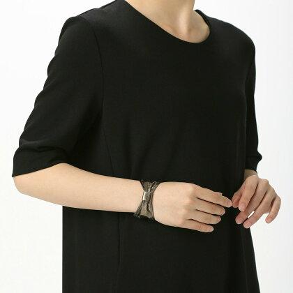 BIYUTEアームカフ手首アクセサリービユテ手袋に重ねつけコーディネイト用リボン型全2色