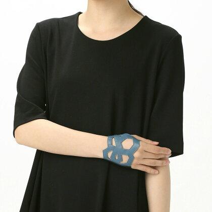 BIYUTEパームカフハンドアクセサリービユテ手袋に重ねつけカットワーク型コーディネイト用全3色