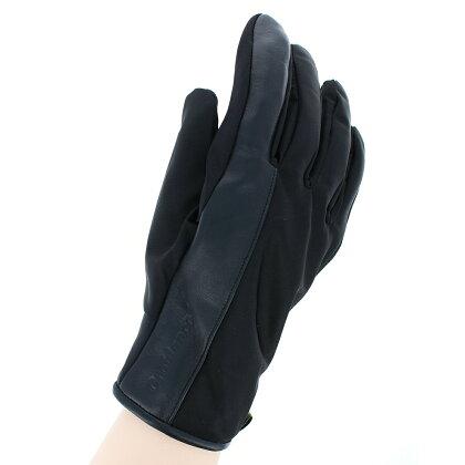 オロビアンコメンズリモンタ社製ナイロンメンズ防寒手袋タッチパネル対応