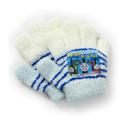 日本製子供手袋|てぶくろギフトプレゼントキャラクター機関車トーマスキッズ手袋防寒グッズ幼稚園保育園小学校通学寒い日も安心