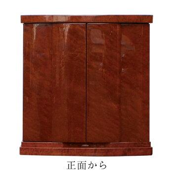 コンパクト仏壇リアン500BR色幅50cm高さ52cm天然木メープル磨き塗装LEDライト引出し須弥壇スライド式膳引美しい艶日本製国産徳島オリジナル仏壇仏壇モダン送料無料セールアルタALTAR