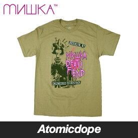 345ba3b29d5bb  送料無料 MISHKA DEATH FIEND Tシャツ 半袖 カーキ サファリグリーン TEE Safari Green