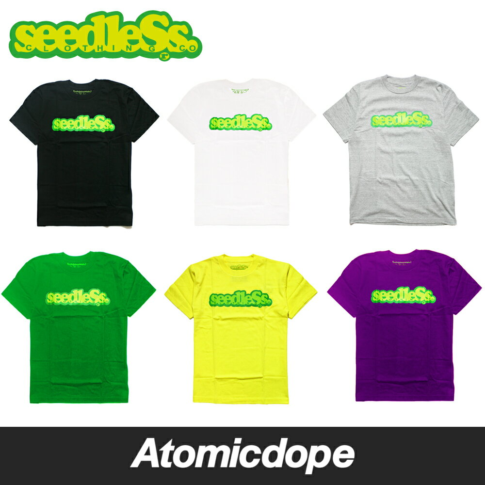 【seedleSs】COOP REGULAR S/S TEE Tシャツ シードレス