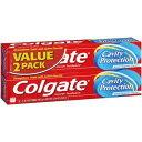 コルゲート キャビティプロテクション レギュラーフロライド トゥースペースト 2本セット 6.0oz(170g) Colgate Cavity Protecti...
