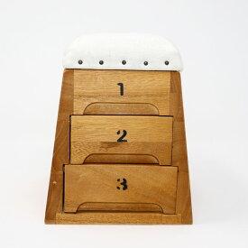 跳び箱 小物入れ 日本製 引き出しタイプ とびばこ 収納 裁縫箱 アクセサリー収納 時計収納 おしゃれ 小物ケース 桐 木箱 木育 子ども おもちゃ ミニ跳び箱 卓上