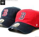 47 Brand キャップ 【 レッドソックス キャップ 】 47 キャップ/47 ブランド/ストラップバック/バックベルト/レッドソックス/MLB キャ…