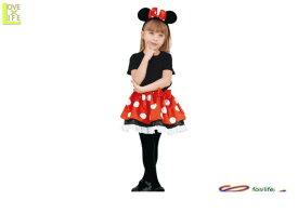 キッズ 95R008 ミニー チュチュセット キッズ  ディズニー Disney 仮装 パーティ ミッキーマウスの永遠の恋人☆ミニーちゃん♪☆AOIコレクションのコス♪コスプレ 衣装 コスチューム    大