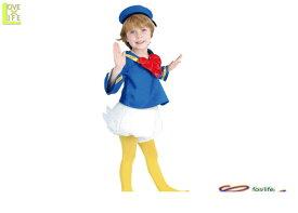 【キッズ】【80R2053】チャイルド ドナルドダック【キッズ】 【ディズニー】【Disney】【仮装】【パーティ】ディズニーキャラクターのドナルドダック♪☆AOIコレクションのコスプレ♪【コスプレ】【衣装】【コスチューム】【 】【大 】