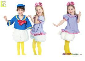 キッズ 80R2060 女の子 チャイルド デイジーダックキッズ  ディズニー Disney 仮装 パーティ ドナルドダックのセクシーでキュートなガールフレンド♪☆AOIコレクションのコスプレ♪コスプレ 衣装 コスチューム
