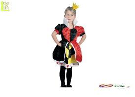 キッズ 80R2061 チャイルド クィーン・オブ・ハート (不思議の国のアリス)キッズ  ディズニー Disney 仮装 クイーンオブハートパーティ ハートの女王子供用コス☆AOIコレクションコスプレ 衣装   大