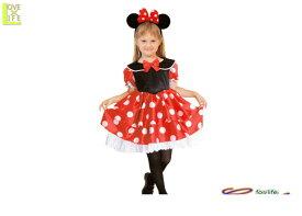 キッズ ディズニーキャラクター チャイルド ミニーマウス子供 ディズニー Disney 仮装 パーティ コスプレ 衣装 コスチューム イベント ミニーちゃんの子供用コスチュームが大人気 ディズニーランドで着れば目立つこと間違いなし