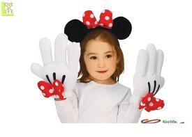 グッズ 80R2596 ミニーマウス ヘッドバンド&グローブセットミニー ディズニー Disney 仮装 ミニーマウス ヘッドバンド&グローブセット♪☆AOIコレクションのコスプレ♪コスプレ 衣装 コスチューム