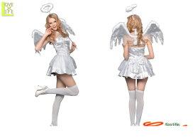 8d5e94ef75cb6  1  ホワイトキューピッド 天使  エンジェル  キューピット  仮装  コスプレ タイトなデザインで、セクシーに着こなせるデザイン♪☆AOIコレクションの  ...