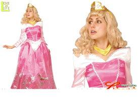 【レディ】【95R083】オーロラ姫 レディ ドレス【眠れる森の美女】【Disney】【ディズニー】 【お姫様】【パーティ】ディズニーのプリンス!ゴージャスでかわいい♪☆AOIコレクションのコス♪【コスプレ】【衣装】【コスチューム】【】