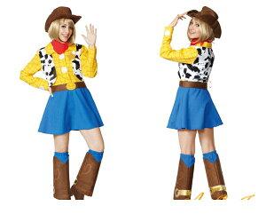 レディ 95R309 ウッディトイ・ストーリー 仮装 パーティ Woody Pride Toy Story カウボーイ ディズニー/ピクサー映画トイストーリー ♪☆AOIコレクションのコスプレ♪コスプレ 衣装
