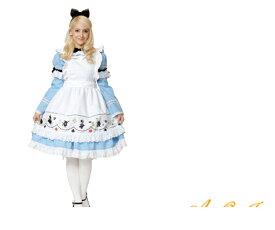 レディ 95R328 ゴシック アリスアリス Alice 不思議の国のアリス メイド アリス・イン・ワンダーランド  仮装 コスプレ 新作アリスのコスチューム今回もキュート☆AOIコレクションのコス♪コスチューム   大