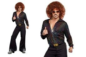 【メンズ】【94P68】【DREAMGIRL】ディスコデュード Disco Dude【ダンス】【クラブ】【ドリームガール】【USA】【アメリカ】【ブランド】【パーティ】セレブ愛用のドリームガール AOIコレクションのコス♪【コスプレ】【衣装】【コスチューム】【 】