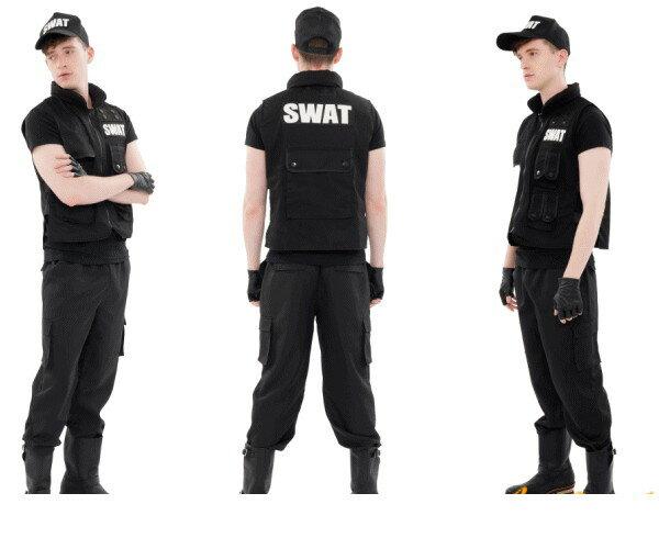 【メンズ】【(C)NYW_M1404】【Newyork Wish】SWAT【特殊部隊】【ポリス】【スワット】【USA】【アメリカ】【パーティ】【仮装】【コスプレ】【ニューヨークウィッシュ】楽しさと刺激に満ちたコスチュームブランド☆AOIコレクション【コスチューム】【大 】
