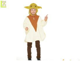 キッズ スターウォーズ ヨーダ ポンチョSTAR WARS YODA 子供 仮装 衣装 コスプレ コスチューム ハロウィン パーティ イベント キャラ HALLOWEEN グッズ かわいい 映画 お子様用のコスチュームが豊富です