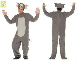 アダルト トムとジェリー トムTom Cat ネコ コスチューム 衣装 イベント 仮装 かわいい コスプレ アニメ ハロウィン パーティ イベント かわいいキャラクターコスが登場 キュートな仕上がりで目立つこと間違いなし