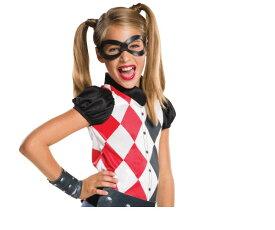 キッズ ハーレクインM バットマン DCコミック スーパーヒーローガールズ ハロウィン コスプレ コスチューム 衣装 仮装 かわいい