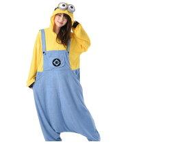 UNISEX ミニオンボブ 着ぐるみ BOB ミニオンズ 怪盗グルー USJ ユニバーサル ハロウィン コスプレ コスチューム 衣装 仮装 かわいい