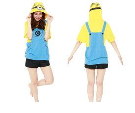 UNISEX ミニオンメル  サマーTシャツ BOB ミニオンズ 怪盗グルー USJ ユニバーサル ハロウィン コスプレ コスチューム 衣装 仮装 かわいい